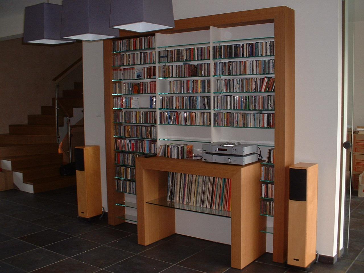 meuble cd et hifi